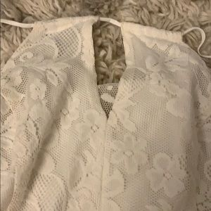 Hollister Dresses - Small White dress